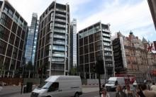 объем строительства офисов в лондоне