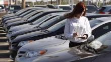 продажи авто в США